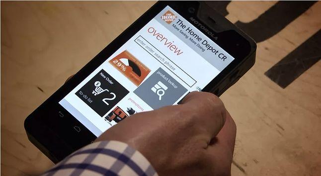 Wczesny prototyp Motoroli oparty na Windows Embedded 8 Handheld