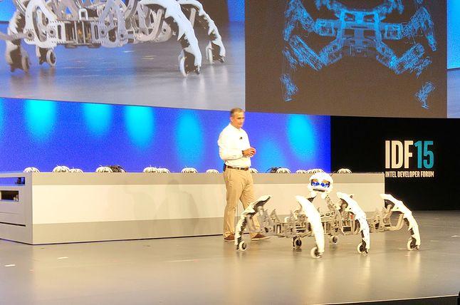 To dowódca pajęczej armii robotów, za pomocą której Intel przejmie władzę nad światem