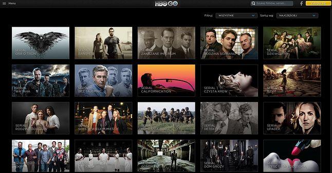 Najlepszych seriali w HBO GO nie brakuje