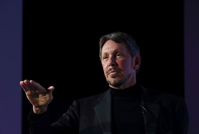 Larry Ellison, szef Oracle, jeden z najpotężniejszych graczy Doliny Krzemowej
