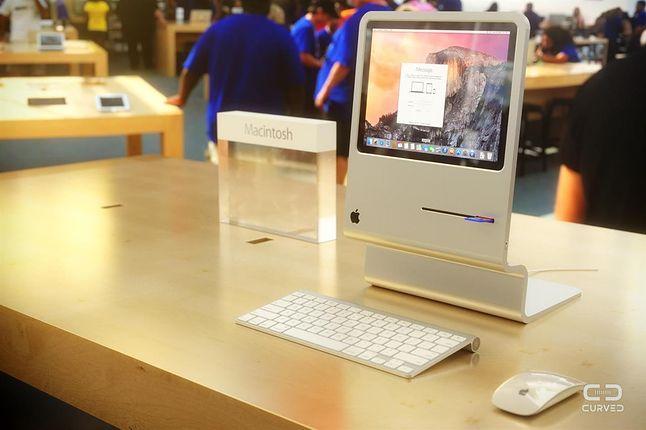 Macintosh 128k przeniesiony do roku 2015