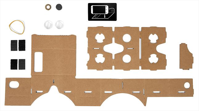 Karton, rzepy, soczewki, magnesy, gumka recepturka, naklejka NFC i do dzieła