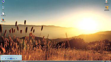 Windows Vista- Osiem lat później - Sielanka Visty widoczna na zrzucie ekranu