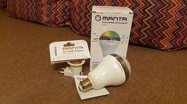 Manta DLB002 — posłuchajmy muzyki z żarówki