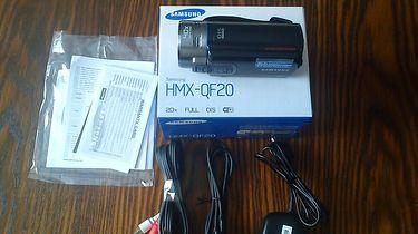 Samsung HMX-QF20 - pierwsze spojrzenie