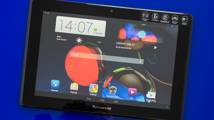 Lenovo A10-70 A7600 – test 10-calowego tabletu ze środkowej półki