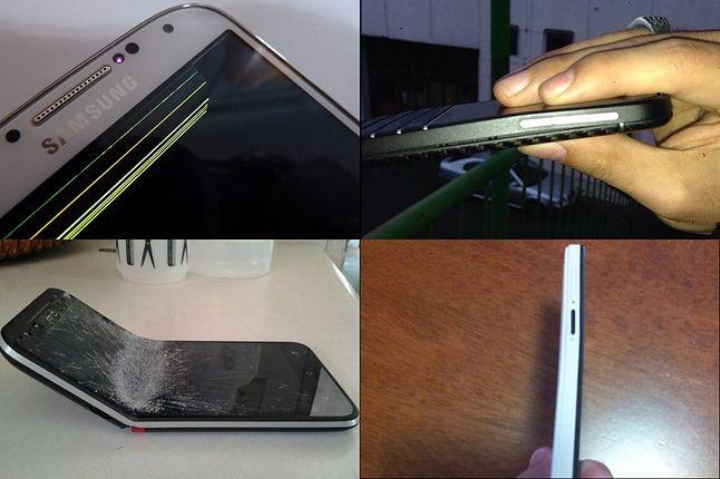 Nie tylko iPhone się wygina, to problem powszechny