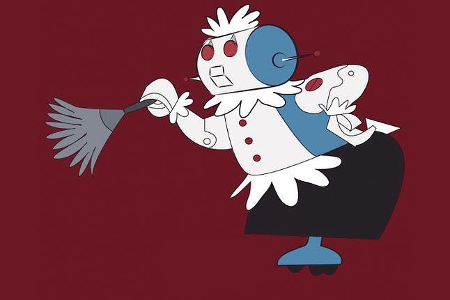 """Rosie, gospodyni z kreskówki """"Jetsonowie"""". Cartoon Network"""