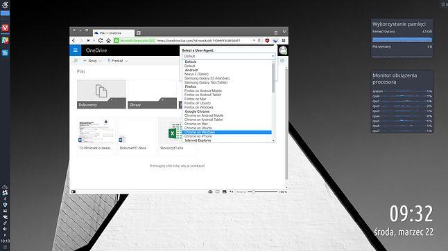Gdy linuksowy Vivaldi staje się windowsowym Chrome, aplikacje Microsoftu przyspieszają