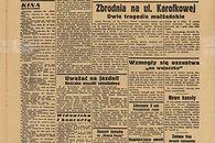 Kryptologia XX wieku — Enigma — płonący kraj i ewakuacja - Goniec Warszawski z 28 sierpnia [Biblioteka Narodowa]