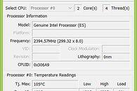 Dell XPS 12 Duo - TermoTEST - Dump podczas zwykłej pracy