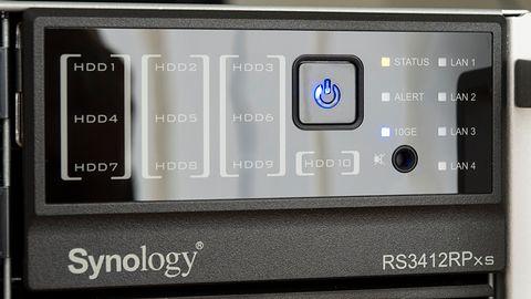 Synology RS3412RPxs — 10 gigabitów w rozsądnej cenie