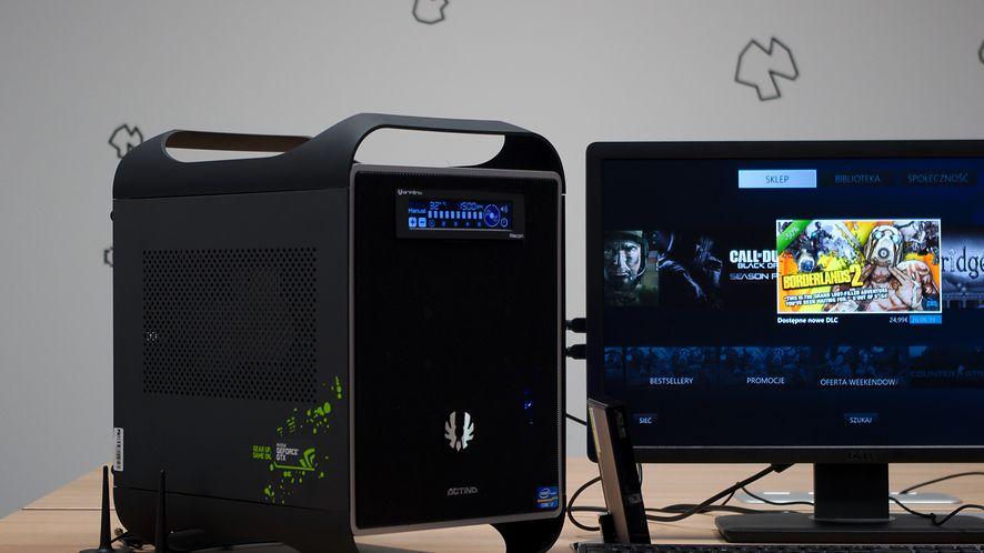 Actina GameON i707GE FULLH2O – mały komputer na wielkie granie