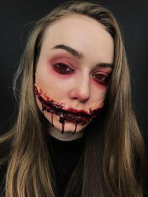 Halloween online - mamy dla Was tutorial na mega przerażający makijaż!