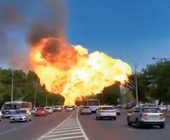Potężny wybuch na stacji benzynowej. Przerażające nagranie