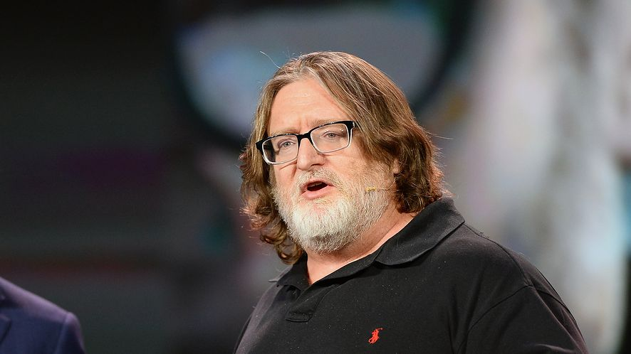 Gabe Newell - miliarder i właściciel Valve, fot. Ethan Miller/Getty Images