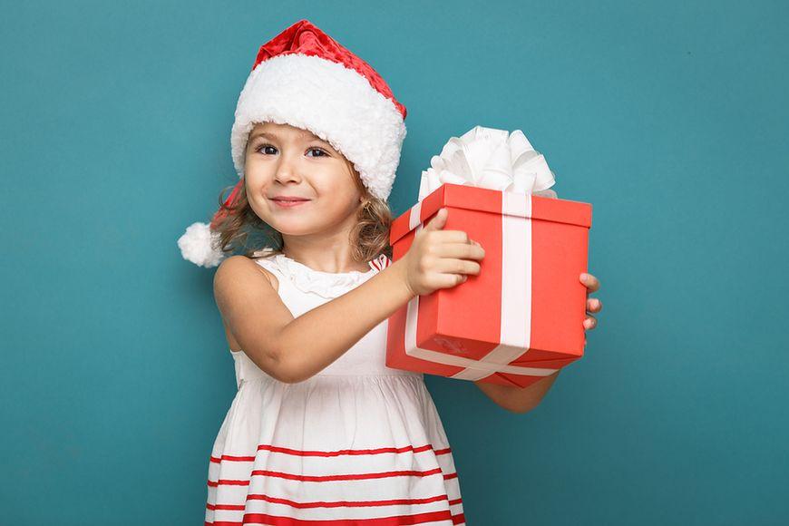 Dzieci kochają prezenty