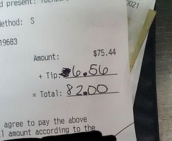 Klient nie miał litości. Kelnerka pokazała, co napisał na paragonie