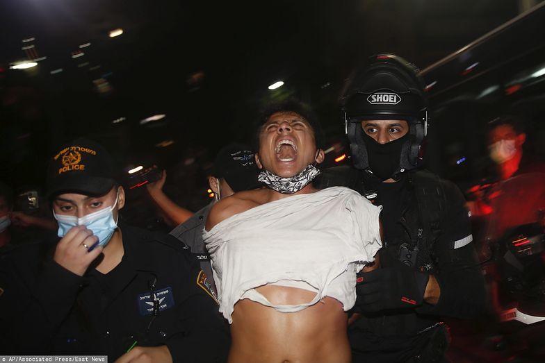 W Izraelu protestują tłumy. Dramatyczne sceny