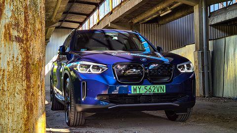 Test BMW iX3: Napęd elektryczny, działanie systemu i audio Harman Kardon