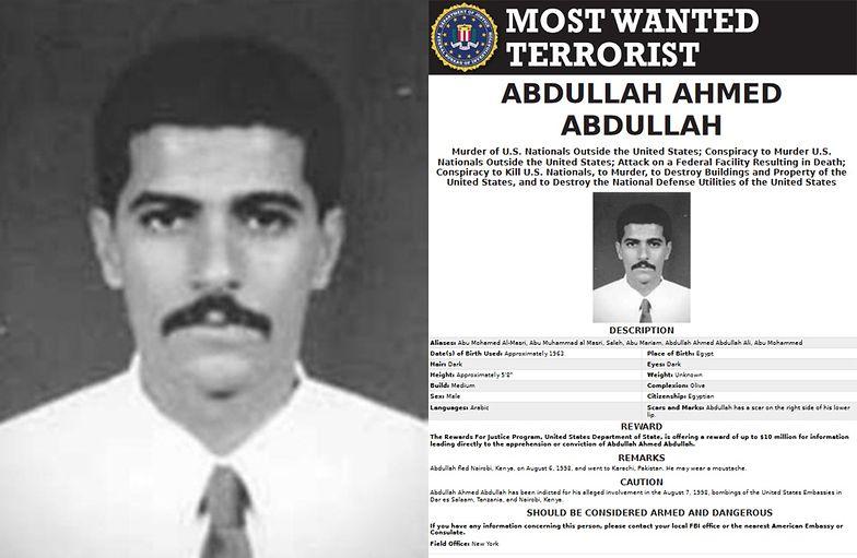 Dowódca Al-Kaidy zabity przez Izrael? Iran zaprzecza