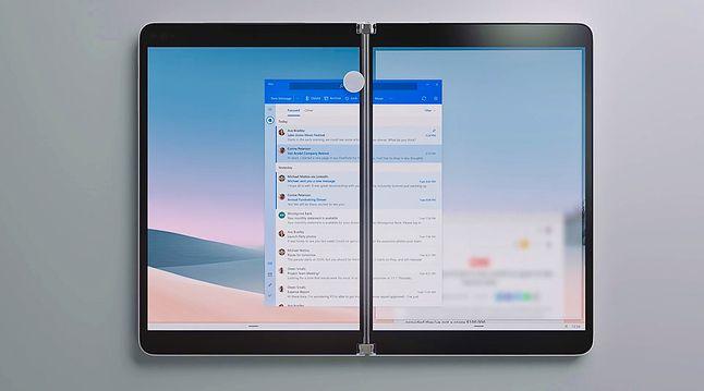 Windows 10X na Surface Neo, fot. Microsoft