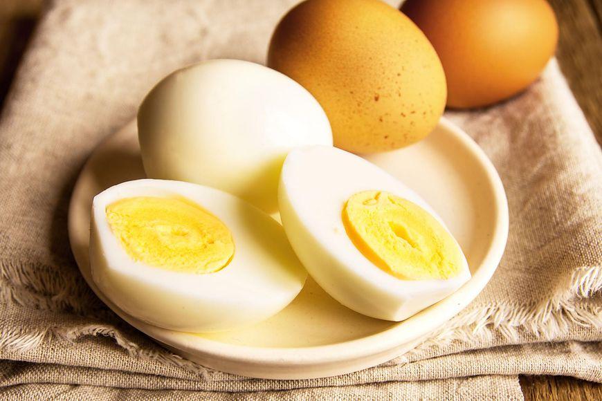 Gotowane jajka również nei są do końca bezpieczne