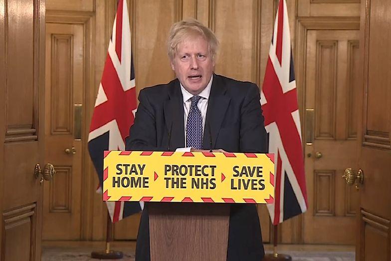 """Premier Wielkiej Brytanii twierdzi, że szczyt epidemii miał już miejsce. Planowane jest """"odmrażanie gospodarki""""."""