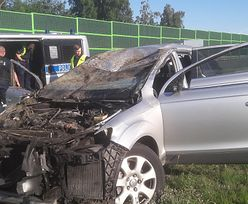 Łódź. Tragiczny wypadek na A1. Kierowca audi aresztowany