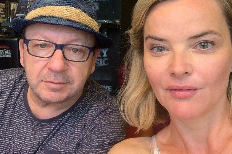 Monika Zamachowska przerywa milczenie. Mówi o zdradzie męża