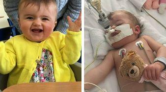 10-miesięczna Eliza już nigdy nie będzie zdrowa. Rodzina przeżywa koszmar, jest ''uwięziona'' w szpitalu