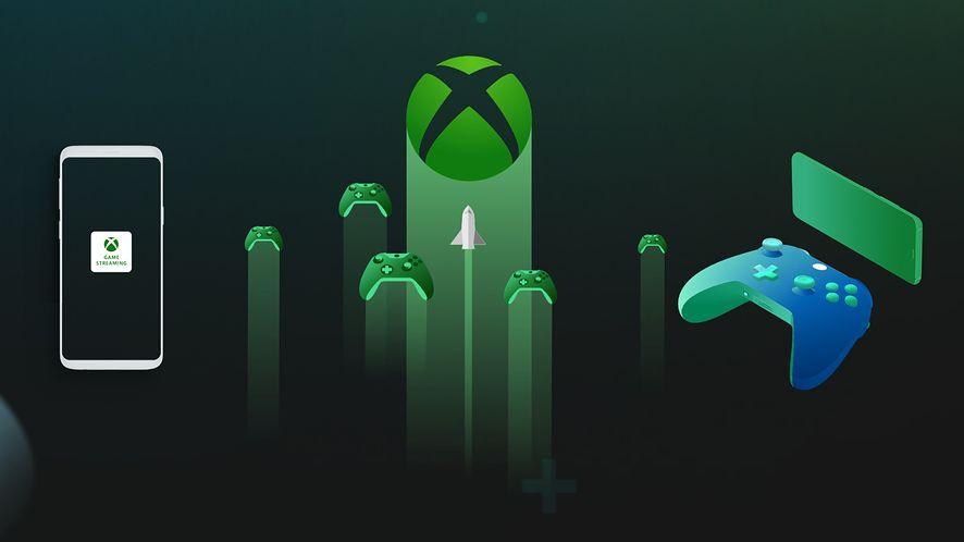 Project xCloud, usługa strumieniowania gier Microsoftu, fot. Xbox