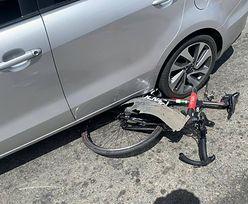Agresja na drodze. Znany kolarz potrącony. Kierowca auta zrobił to celowo