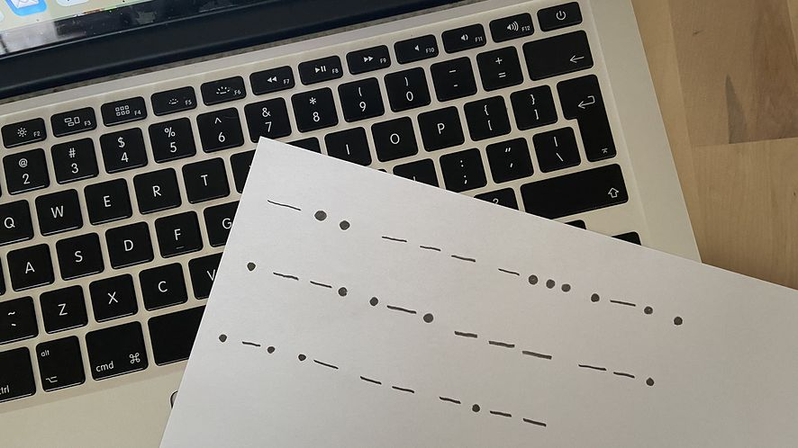 Zapis w alfabecie Morse'a