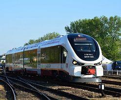 Metry od katastrofy. Dwa pociągi na jednym torze na stacji Ostrów Wielkopolski