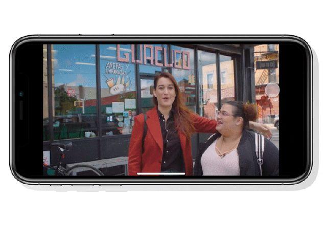 Teraz wystarczy pociągnąć palcem w lewo, aby przejść do następnego filmiku. (źródło: techcrunch.com)