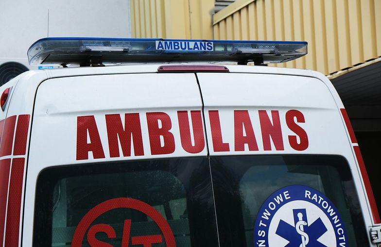 Mężczyzna płonął przed sklepem. Makabra w Olsztynie