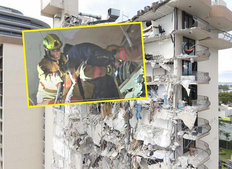 Floryda. 12 pięter bloku runęło w Miami. Świadek zauważył malutką rączkę