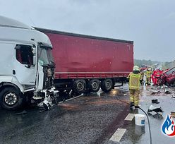 Ciężarówka stanęła w poprzek drogi. Nie żyje 25-latka