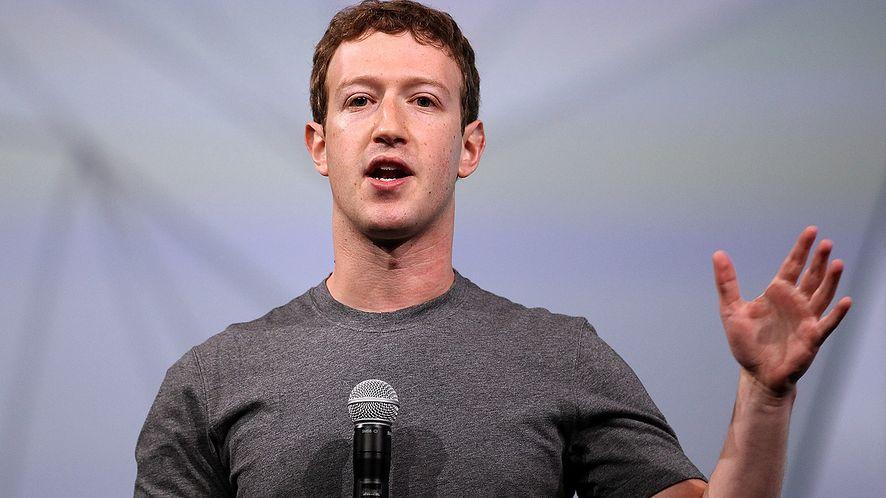 Mark Zuckerberg ogłasza nową kampanię (fot. Getty Images)