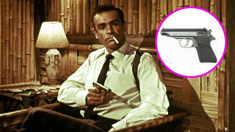 Legendarny pistolet Jamesa Bonda sprzedany. Strzelał z niego Sean Connery