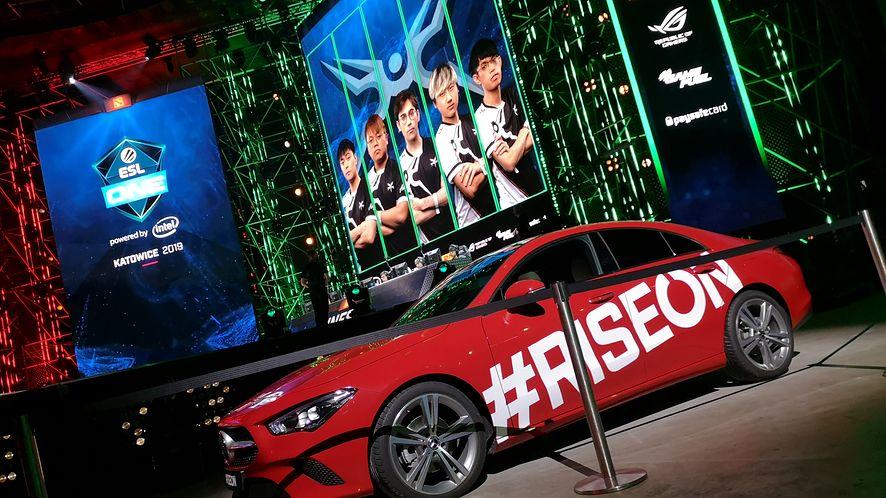 Mercedes-Benz chętnie wspiera e-sport