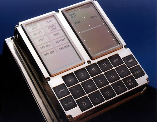 DSKY – Monitor i klawiatura komputera Apollo 11