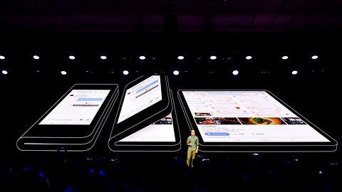 Składany smartfon Galaxy F kupią tylko nieliczni. Będzie droższy niż iPhone Xs