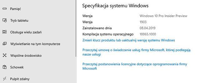 Majowa aktualizacja Windows 10 jest dostępna od kilku dni dla Insiderów.