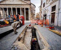 W Rzymie zapadła się ziemia. Odkrycie ma ponad 2 tys. lat
