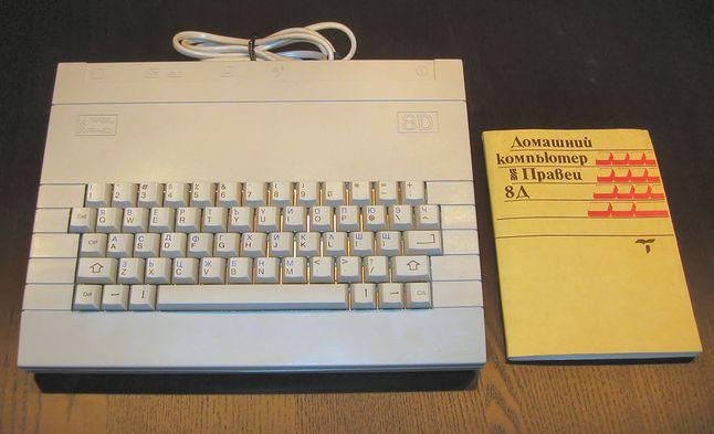Pravetz 8D - komunistyczny Apple II.