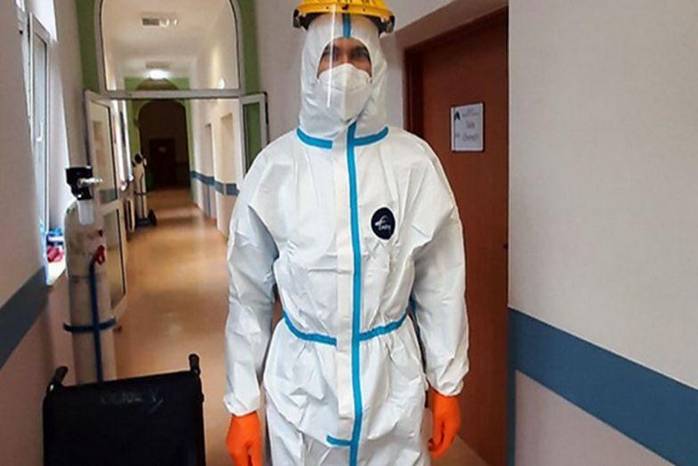 Kleryk mieszka i pracuje w szpitalu covidowym. Mówi, co tam się dzieje