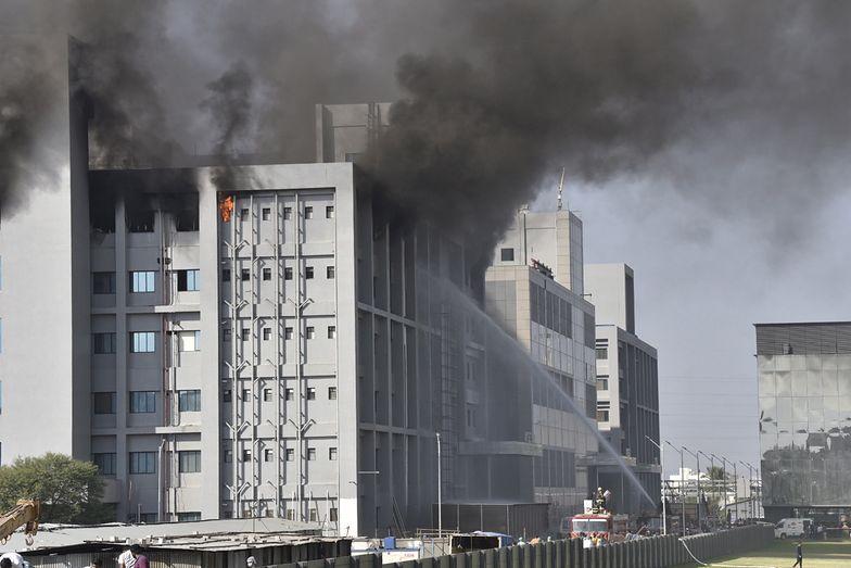 Wielki pożar w największej fabryce szczepionek na COVID-19