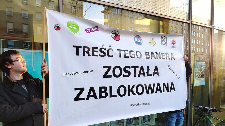 Protest przeciwko ACTA 2.0, Warszawa (Bolesław Breczko)